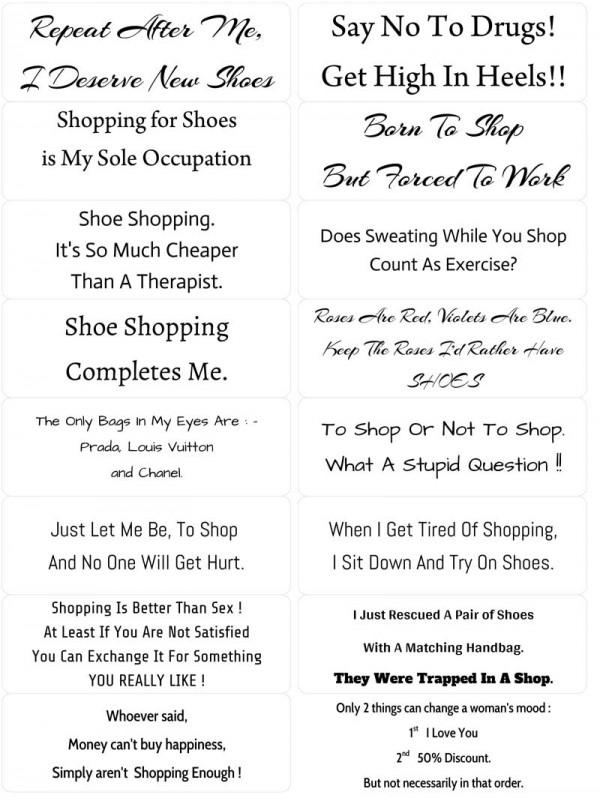 Easy Peel Verses I Shoe Love to Shop