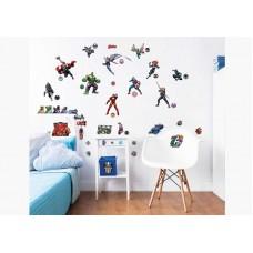 Easy Peel Walltastic Room Stickers - Marvel Avengers