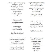 Easy Peel Welsh Sympathy Verses 3