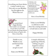 Easy Peel Birthday Verses 4