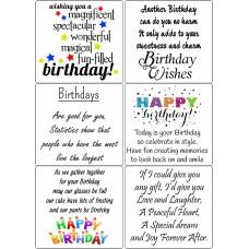 Easy Peel Birthday Sentiments 2