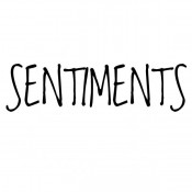 Easy Peel Sentiments