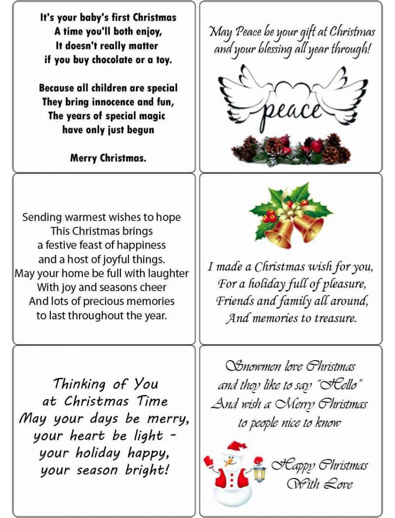 easy peel christmas verses 1