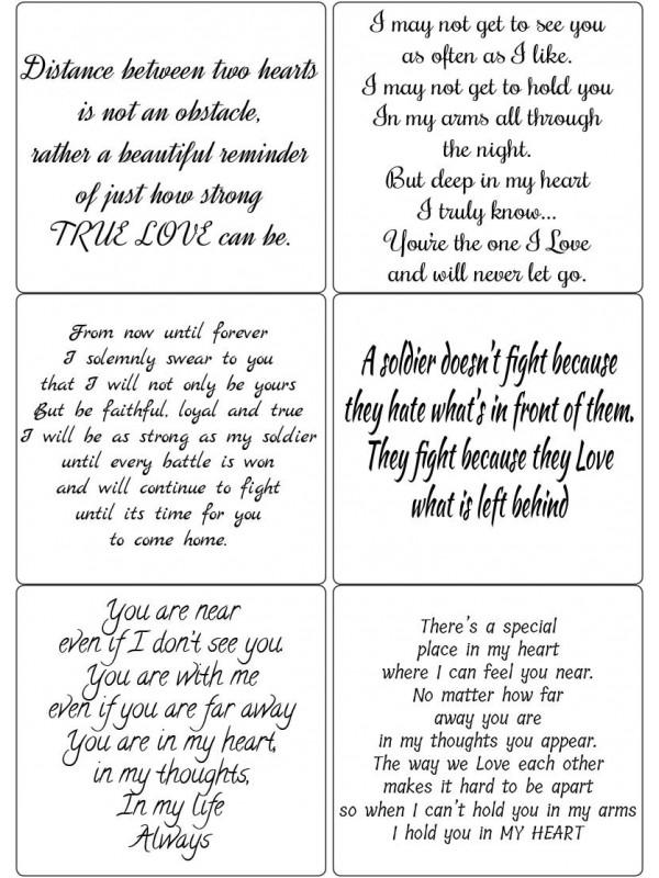 Easy Peel Forces of Love Verses