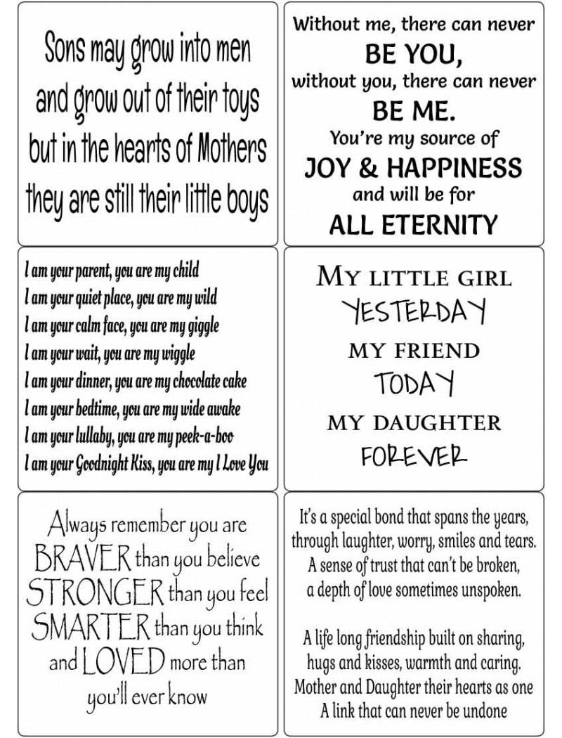 Easy Peel Son & Daughter Verses